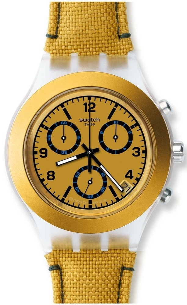 Swatch Mustardy Chronograph SVCK4069