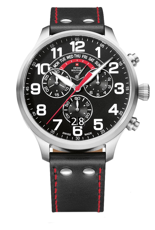 Swiss Military by Chrono SM34038.01 - (29004ST-1LBK)