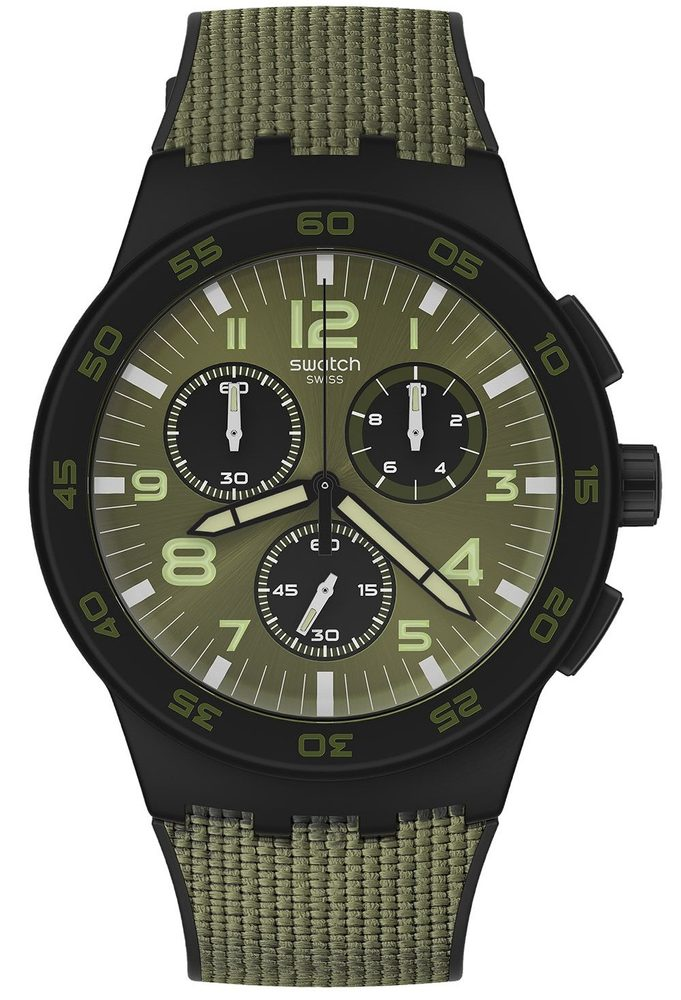 Swatch Dark Forest SUSB105
