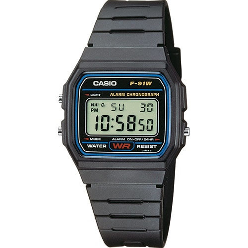 Casio Collection Basic F-91W-1YEF