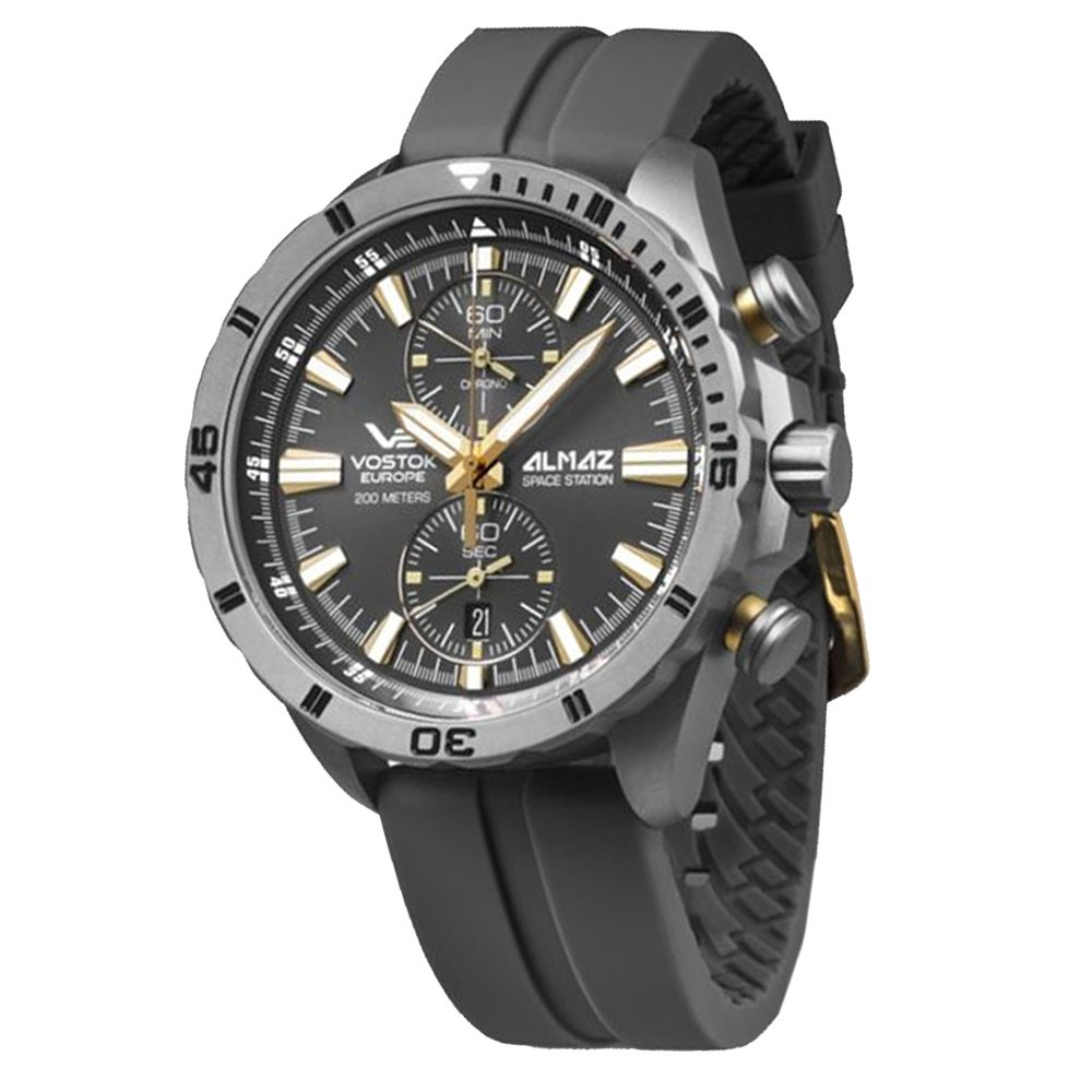 Vostok Europe Almaz Space Station 6S11-320H521S-G