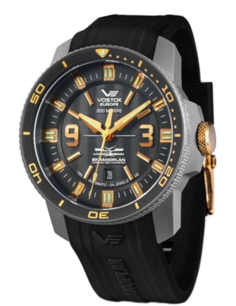Vostok Europe Ekranoplan Sea Monster NH35-546H515S