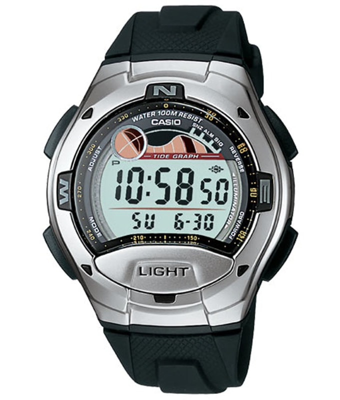 Casio Sports Chronograph W-753-1AVEF