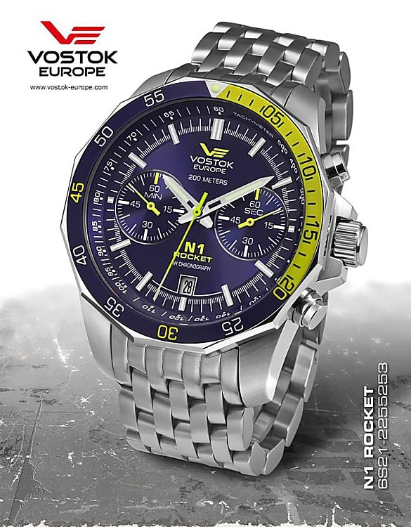 Vostok Europe Rocket N1 Chrono 6S21-2255253B