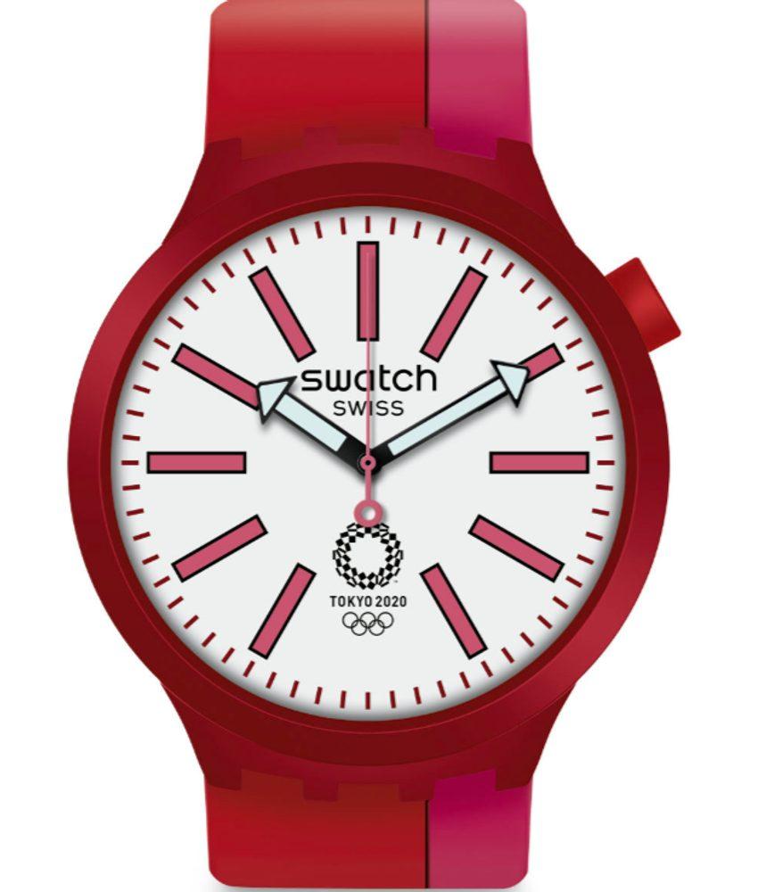 Swatch BB Kurenai Red SO27Z101