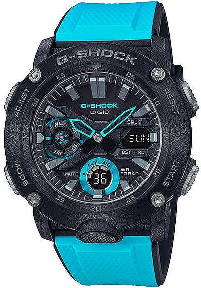 Casio G-Shock Carbon Core Guard GA-2000-1A2ER