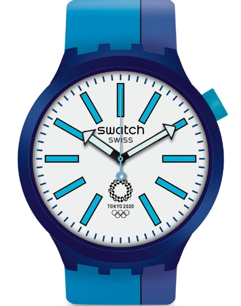 Swatch BB Ai Blue SO27Z100