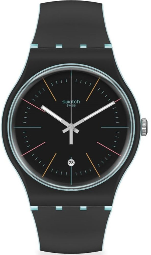 Swatch Black Layered SUOS402