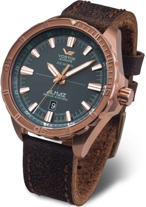 Vostok-Europe  Almaz Space Station  Bronze Line NH35-320O507