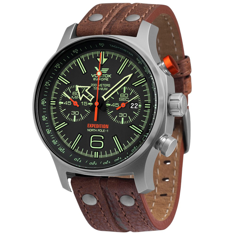 Vostok Europe Expedition North Pole 1 6S21-595H299