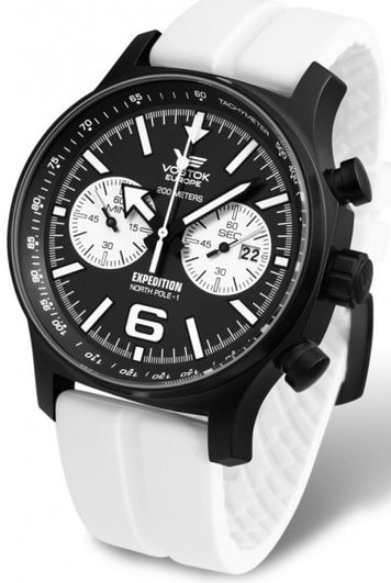 Vostok Europe Expedition -NORTH POLE-1- Chrono 6S21-5954199S-B