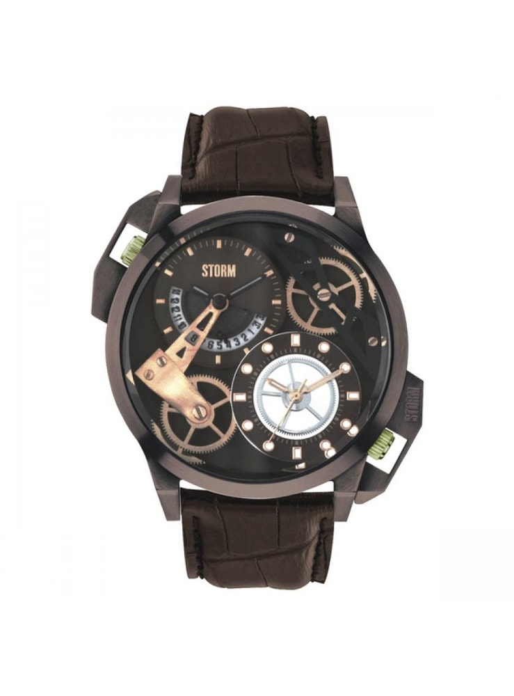 Storm Dualon Leather Brown 47147-BR-BR