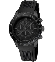 Hodinky Wenger Roadster Black Night Chrono Full Black 01.0853.111