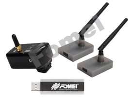 FOMEI Digital Pro X-1 transmitter/2 receivers/1 USB trasmitter
