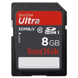 SanDisk SDHC Ultra 8GB 40MB/s Class 10