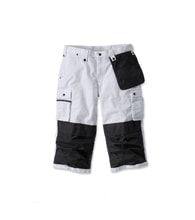 100455wht multi-pocket ripstop pirate pant