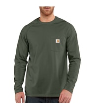 FORCE™ Cotton L-Sleeve T-shirt Moss