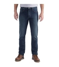 jeansy Carhartt - 102807 498 Rugged Flex® Straight Tappared Jean