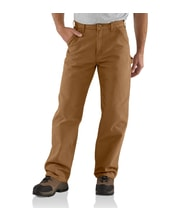 Washed Duck Work Pant brown