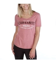 dámské Carhartt triko  - 103589953  Lockhart Graphic Carhartt 'Workwear' Short-Sleeve  T-shirt