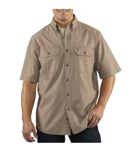 Košile carhartt - S200 256 Short-Sleeve Chambray Shirt
