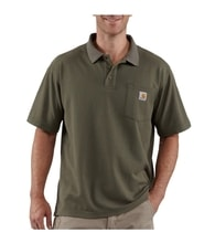 Carhartt triko - K570MOS Contractor's Work Pocket™ Polo