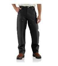 Duck Double Front Logger Pant B01BLK