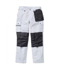 100233wht multi-pocket ripstop pant