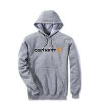 Mikina Carhartt - 100074 HGY SIgnature Logo Midweight Hooded  Swearshirt