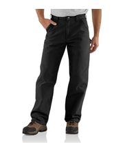Washed Duckwork pant black