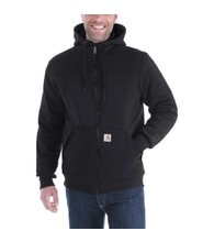 Mikina Carhartt - 103312 001 Rockland Quilt-lined full Zip Hooded Swearshirt
