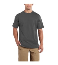 101124 Maddock S-Sleve T-shirt Carbon Heather