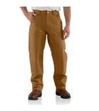 B01 Duck Double Front Logger Pant carhartt brown