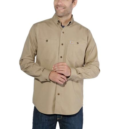 Košile carhartt -103554 253 Rugged Flex Rigby Long Sleeve Work Shirt