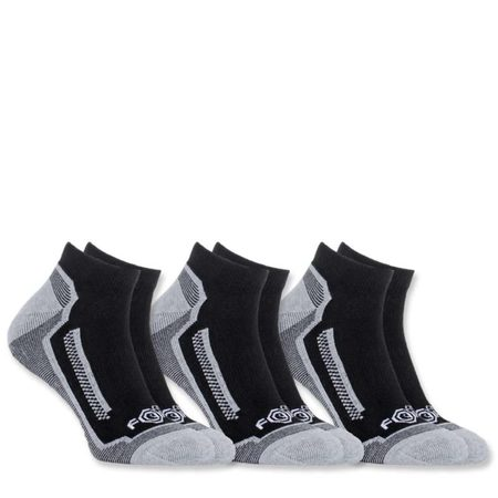 Carhartt Ponožky - A328BLK  FORCE® PERFORMANCE SOCK 3-PACK