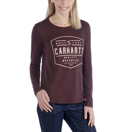 dámské Carhartt triko  -103929 518 LOCKHART GRAPHIC LONG-SLEEVE T-SHIRT