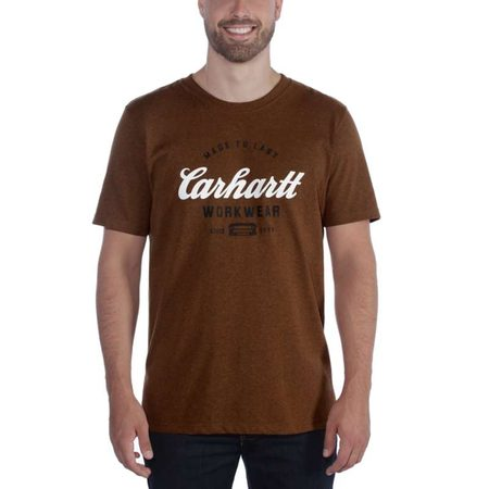 Carhartt triko -104181B00 Workwear Made To Last T-shirt