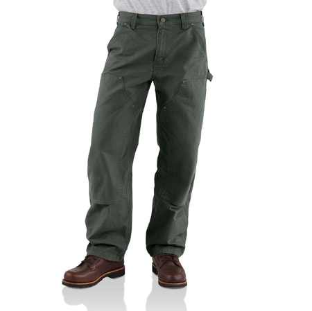 b136 double front work pant MOSS