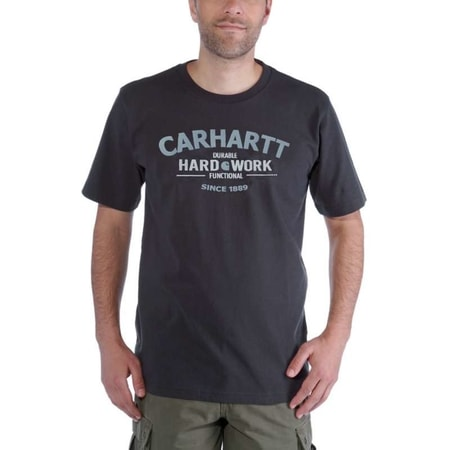 Carhartt triko -103406 026 Worwear Graphic Hard Work S-Sleve T-shirt