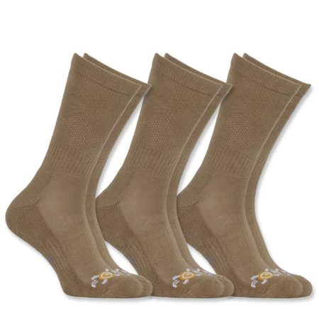 Carhartt Ponožky - A330KHK  37.5 FAST DRYING SOCK 3-PACK