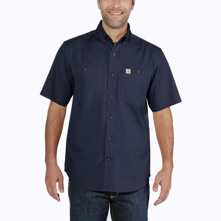 Košile carhartt -103555 412 Rugged Flex Rigby Short Sleeve Work Shirt