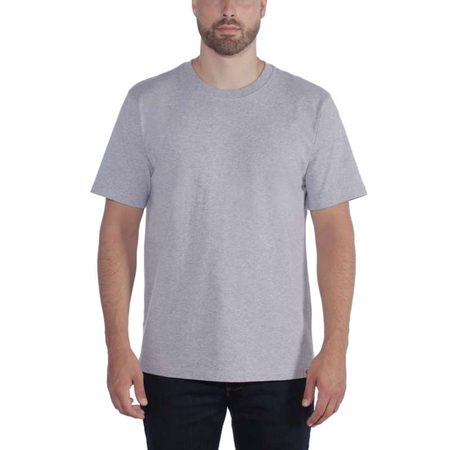 Carhartt triko -104264 HGY Workwear Solid T-shirt Heather grey