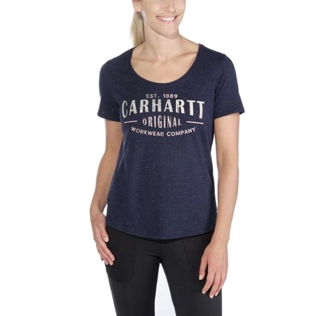 dámské Carhartt triko  - 103589428  Lockhart Graphic Carhartt 'Workwear' Short-Sleeve  T-shirt
