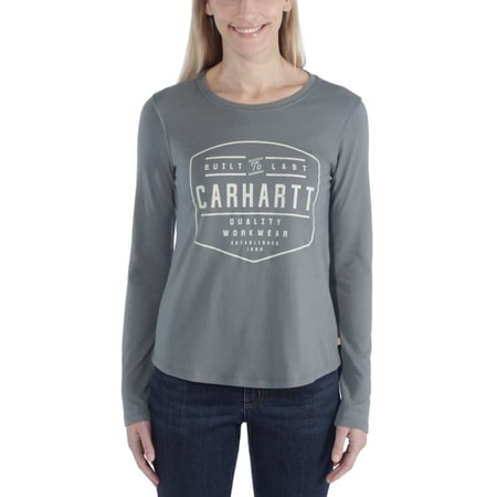 dámské Carhartt triko  -103929 G02 LOCKHART GRAPHIC LONG-SLEEVE T-SHIRT
