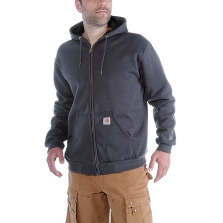 Mikina Carhartt - 100632 024 Rutland Thermal-lined Zip front Swearshirt
