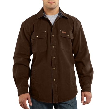 100590 Weathered Canvas Shirt Jac DKB