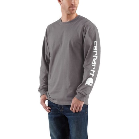 EK231CHR Long-Sleeve Graphic Logo T-Shirt