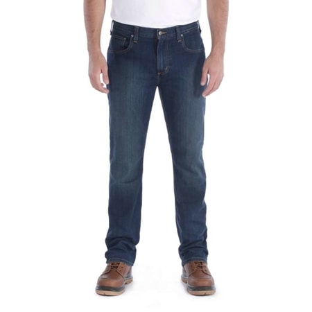 jeansy Carhartt - 102807 491Rugged Flex® Straight Tappared Jean