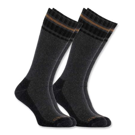 Carhartt Ponožky - A774-2GRY  COLD WEATHER THERMAL SOCK  2-PACK