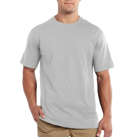Maddock S-Sleve T-shirt Heather Grey